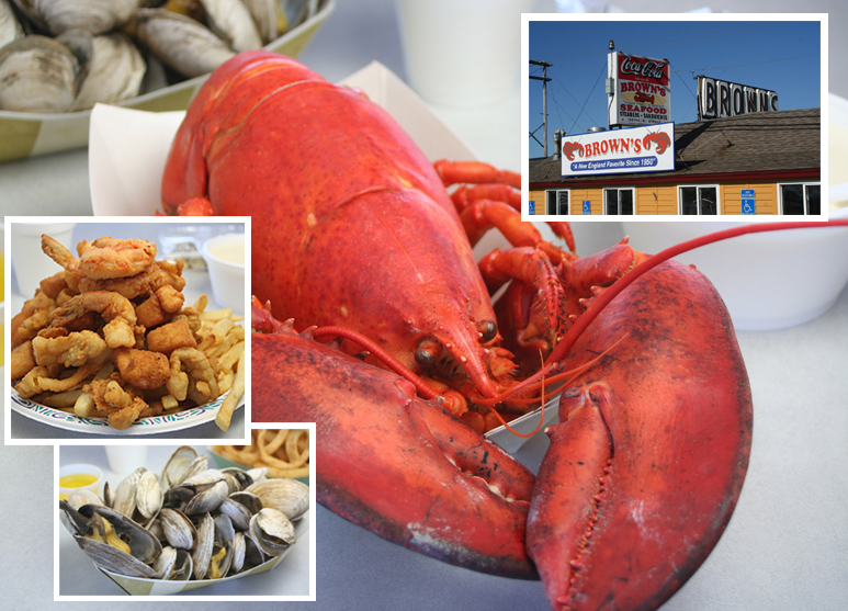 Brown S Lobster Pound Seafood Restaurant Seabrook Nh Hampton